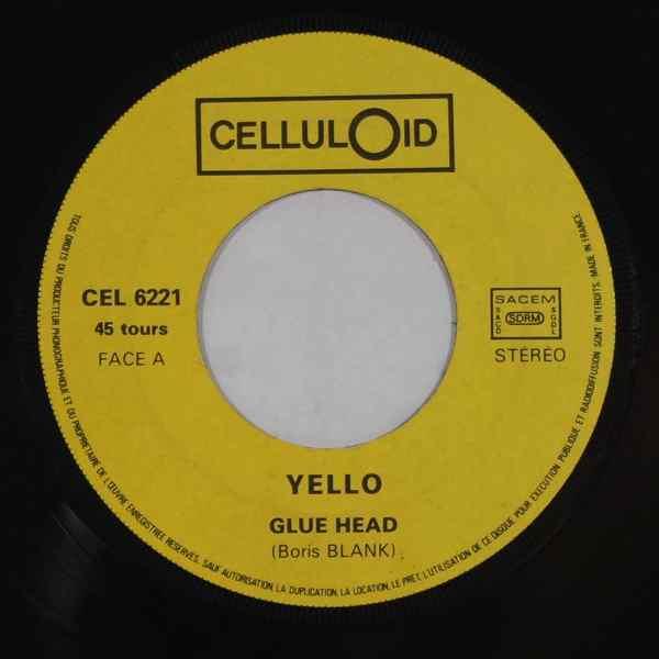 YELLO - Glue head - 7inch (SP)