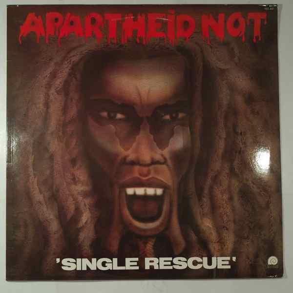 APARTHEID NOT - Single rescue - LP
