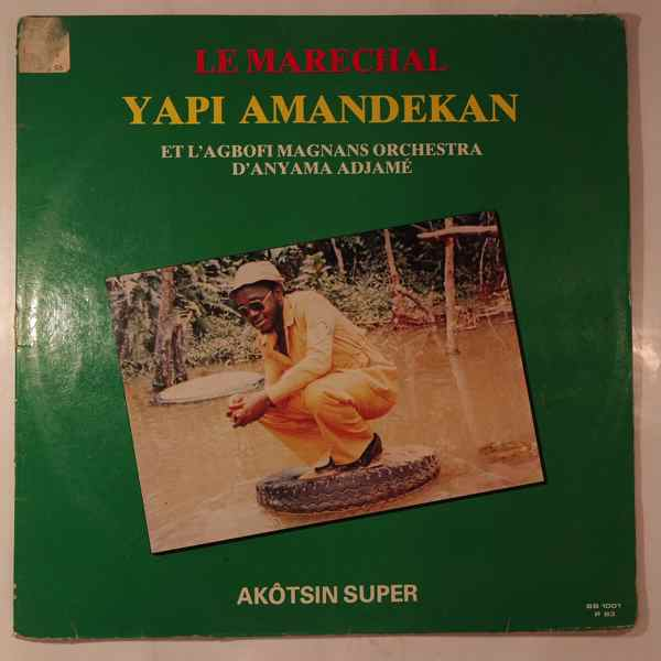 LE MARECHAL YAPI AMANDEKAN - Akotsin super - LP