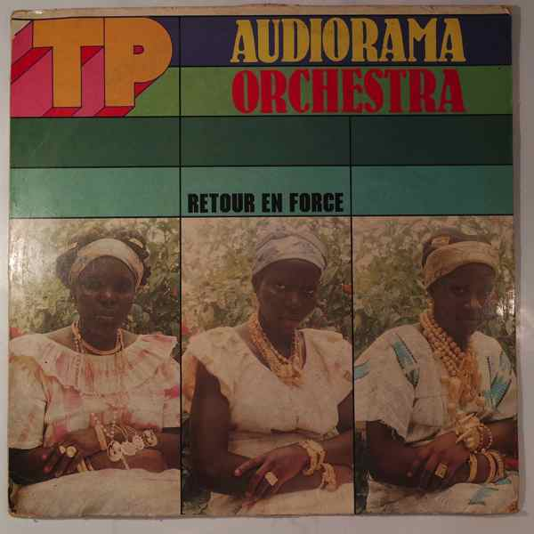 TP AUDIORAMA ORCHESTRA - Retour en force - LP