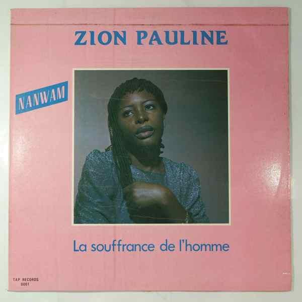 Zion Pauline La souffrance de l'homme