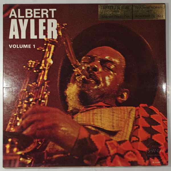 ALBERT AYLER - Nuits De La Fondation Maeght Volume 1 - LP