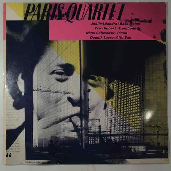 JOELLE LEANDRE - Paris Quartet - LP