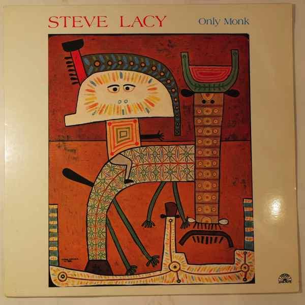 STEVE LACY - Only Monk - LP
