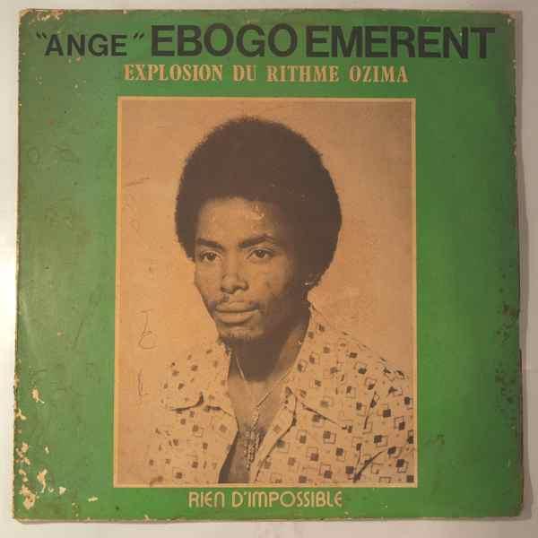 ANGE EBOGO EMERENT - Rien d'impossible - LP