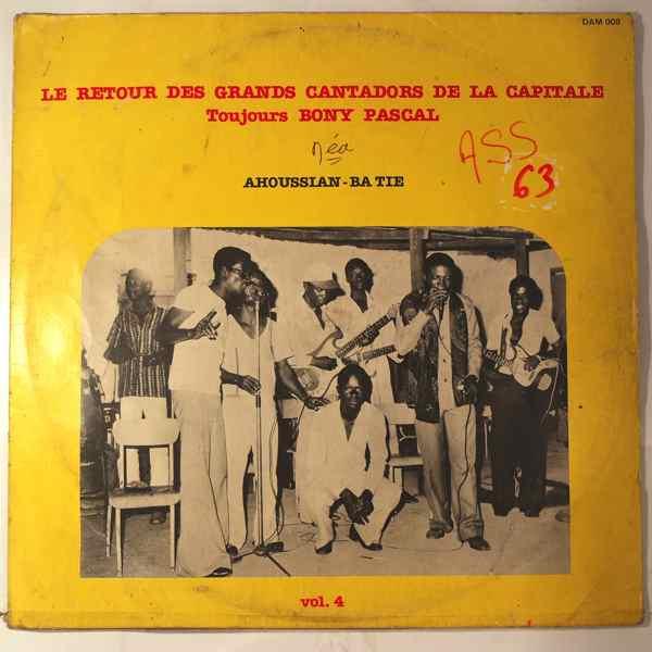 Bony Pascal et les Grands Cantadors de la Capitale Ahoussian-ba tie