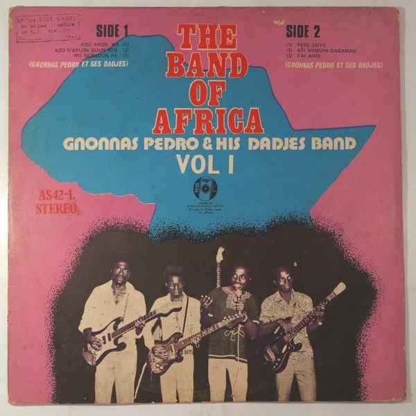GNONNAS PEDRO & HIS DADJES BAND - Vol. 1 - LP