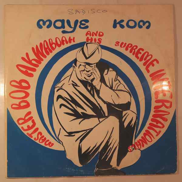 Master Bob Akwaboah Maye kom