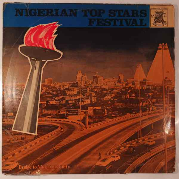 VARIOUS - Nigerian Top Stars Festival - LP