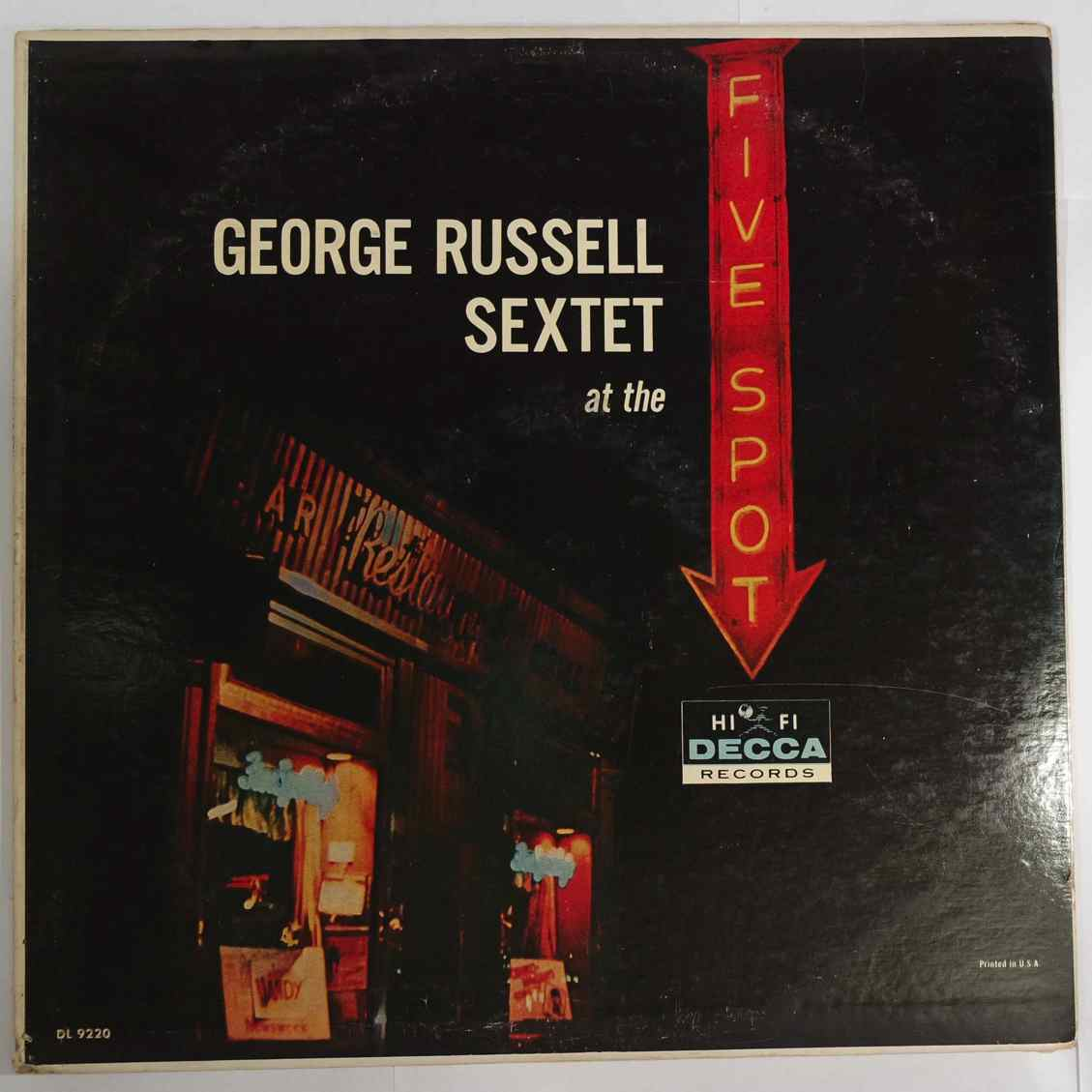 GEORGE RUSSELL SEXTET - At The Five Spot - LP
