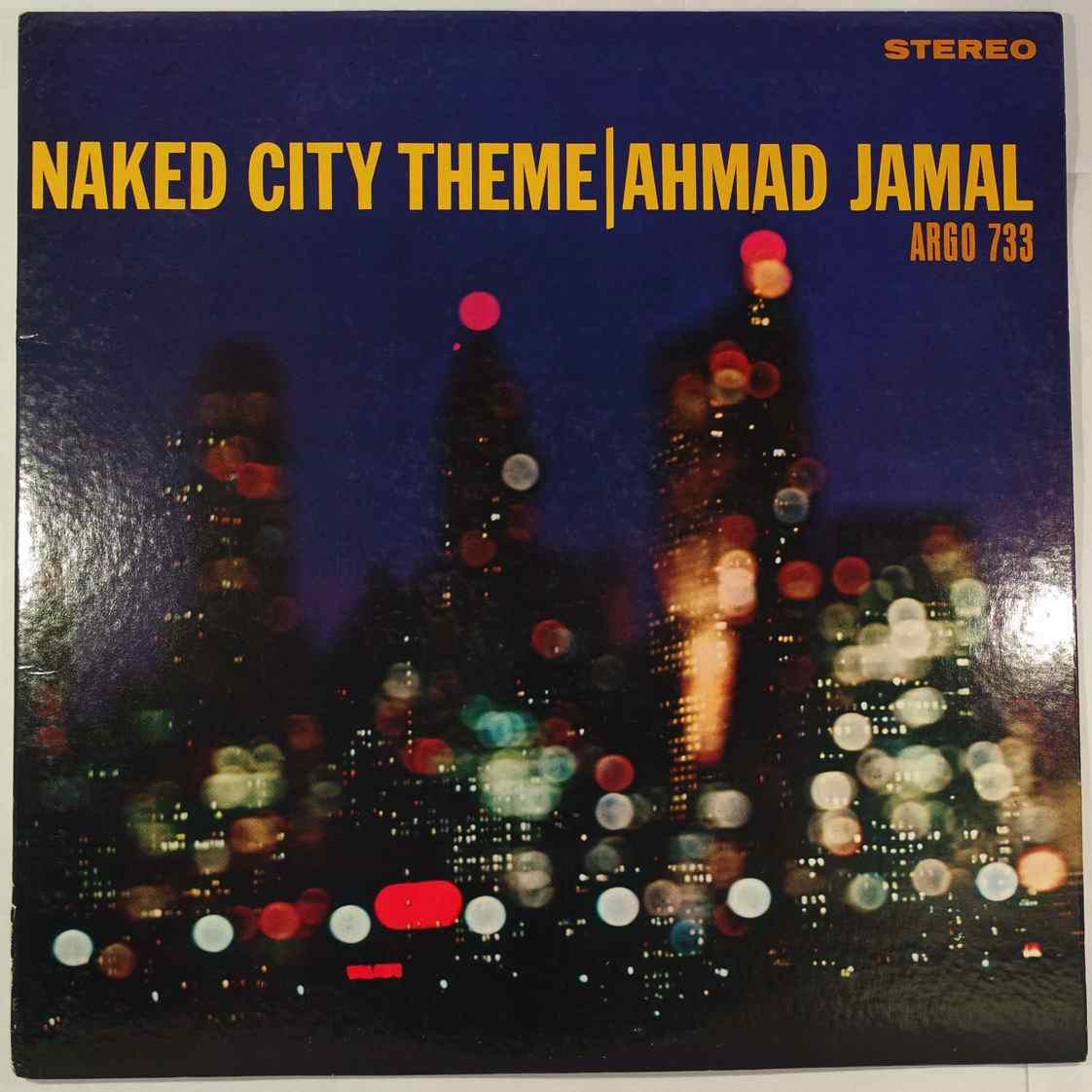 AHMAD JAMAL - Naked City Theme - LP