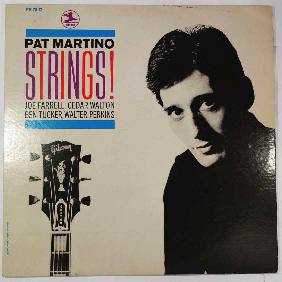 Pat Martino Strings!