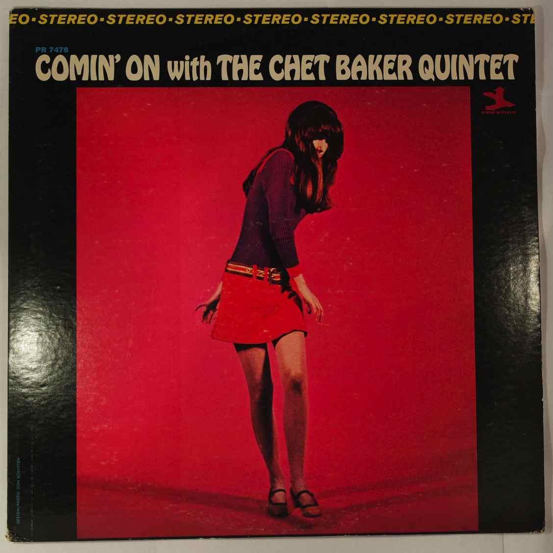 Chet Baker Comin' On With The Chet Baker Quintet