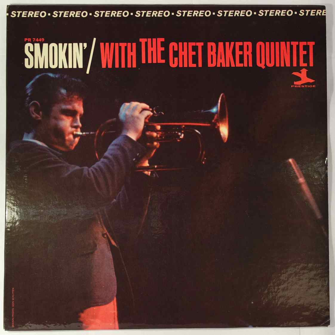 Chet Baker Smokin' With The Chet Baker Quintet