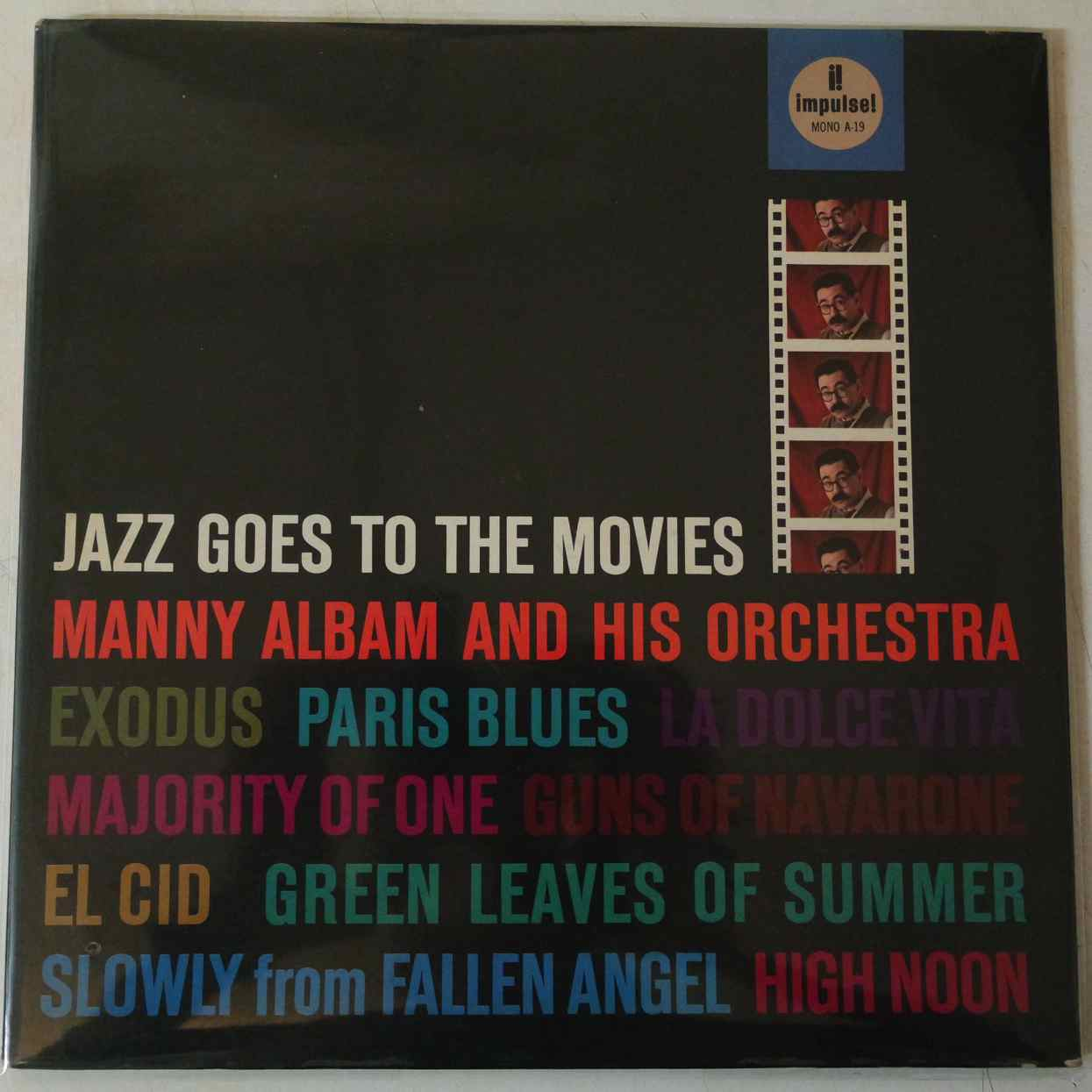 Manny Albam And His Orchestra Jazz Goes To The Movies