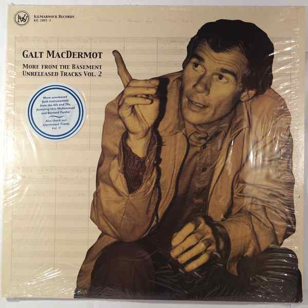 GALT MACDERMOT - More From The Basement Unreleased Tracks Vol. 2 - LP