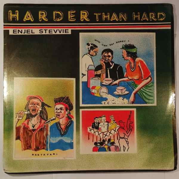 ENJEL STEVVIE - Harder than hard - LP