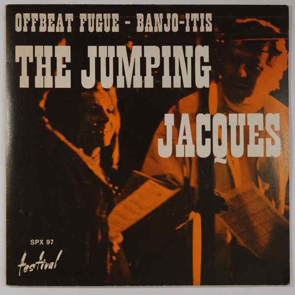 THE JUMPING JACQUES - Offbeat Fugue / Banjo-Itis - 7inch (SP)