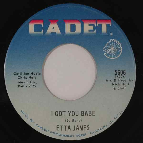 ETTA JAMES - I Got You - 7inch (SP)