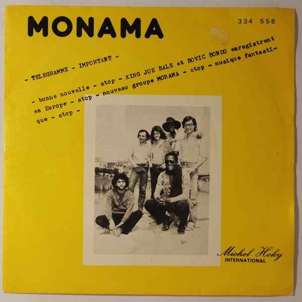 MONAMA - Maseke / N'Daya - 7inch (SP)