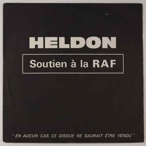 HELDON - Soutien A La RAF - 7inch (SP)