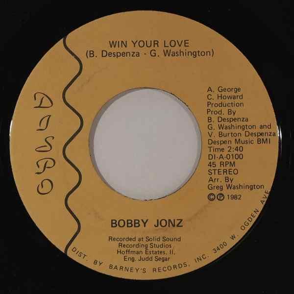 Bobby Jonz Win Your Love