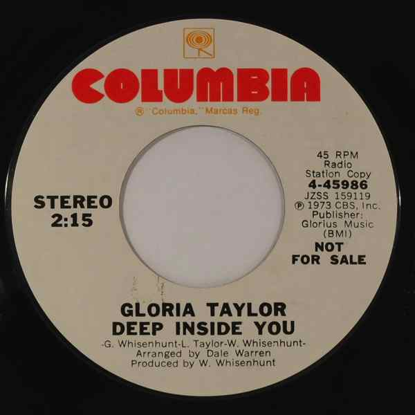 Gloria Taylor Deep Inside You