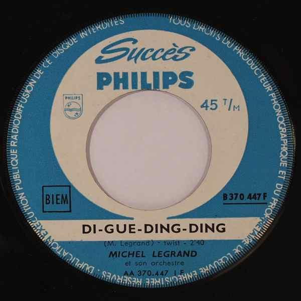 MICHEL LEGRAND - Di-Gue-Ding-Ding - 7inch (SP)