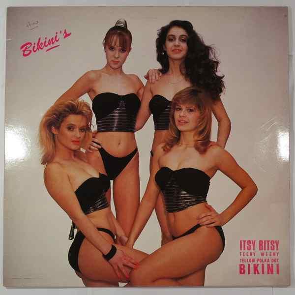 BIKINI'S - Arrete, je t'aime (hysterical) - 12 inch 45 rpm