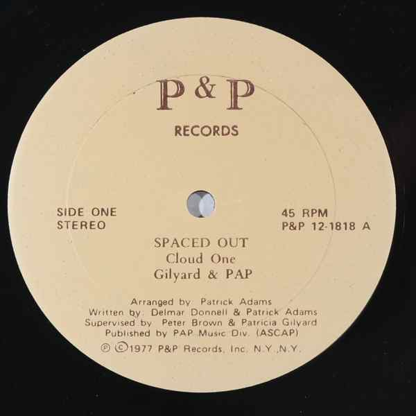 CLOUD ONE - Spaced out - 12 inch 45 rpm