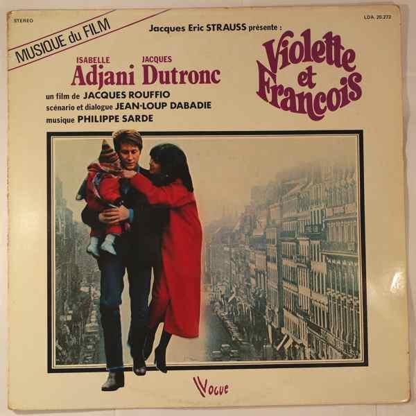 PHILIPPE SARDE - Violette & Francois - LP