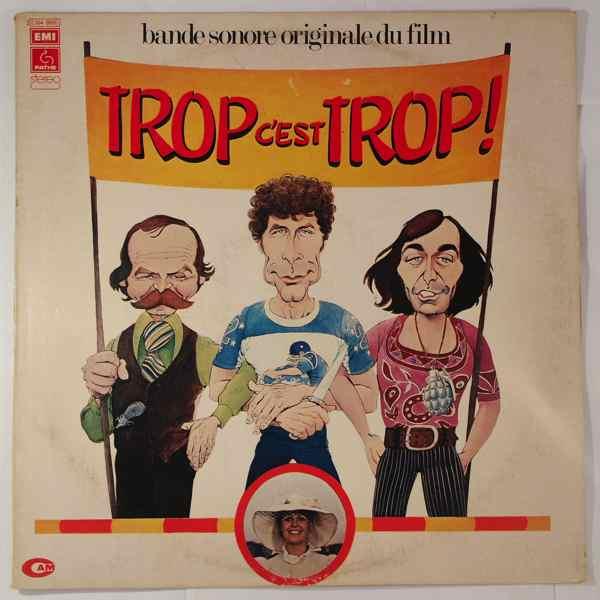 JEAN BOUCHETY & CHRISTIAN CHEVALIER - Trop C'Est Trop - LP