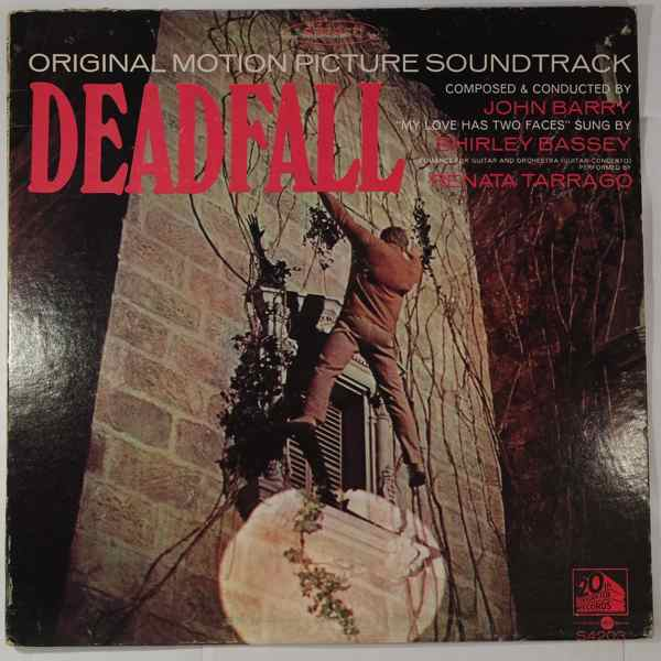JOHN BARRY - Deadfall - LP