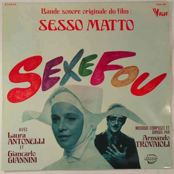 ARMANDO TROVAIOLI - Sexe Fou (Sesso Matto) - LP