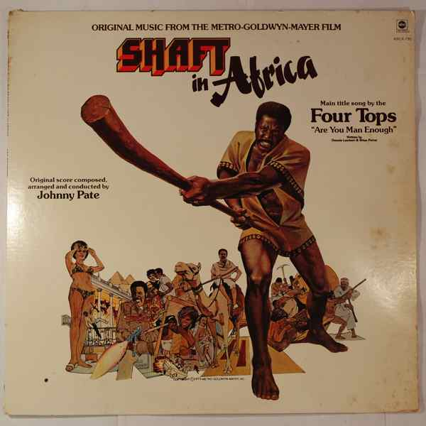JOHNNY PATE - Shaft In Africa - LP