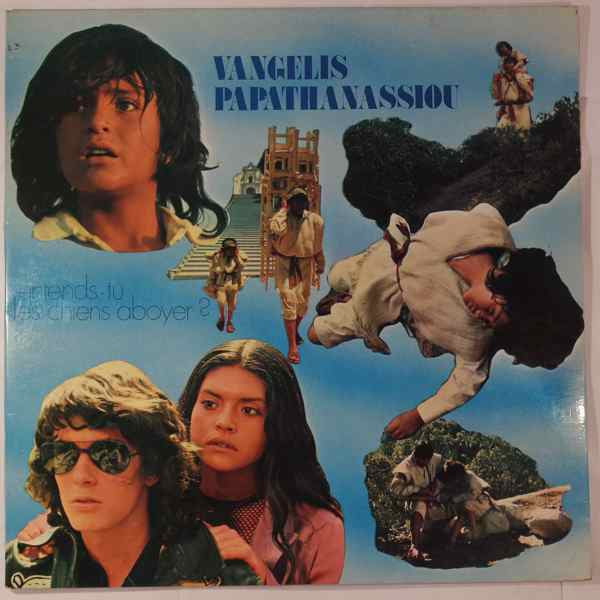 VANGELIS PAPATHANASSIOU - Entends-Tu Les Chiens Aboyer? - LP