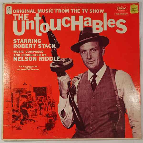 NELSON RIDDLE - The Untouchables - LP
