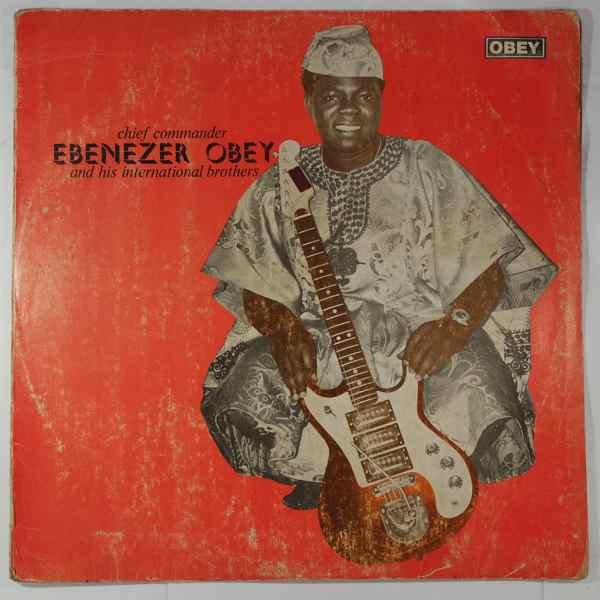 CHIEF COMMANDER EBENEZER OBEY - Same - LP