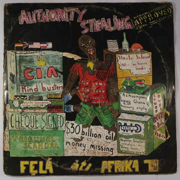 FELA KUTI - Authority stealing - LP