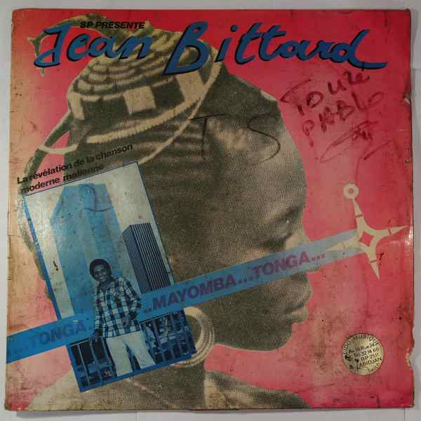 JEAN BITTARD - Tonga mayomba tonga - LP