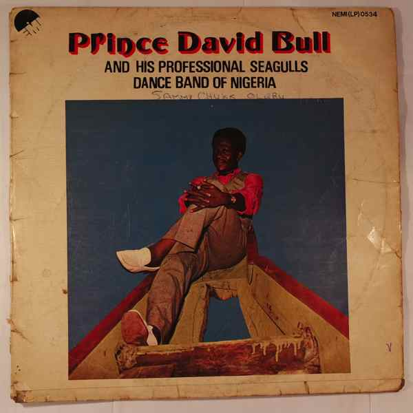 PRINCE DAVID BULL - Peoples club of Nigeria - LP