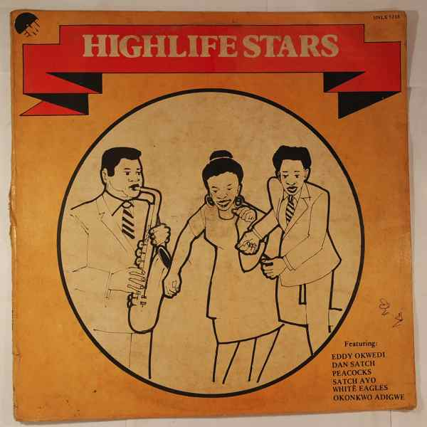 VARIOUS - Highlife stars - LP