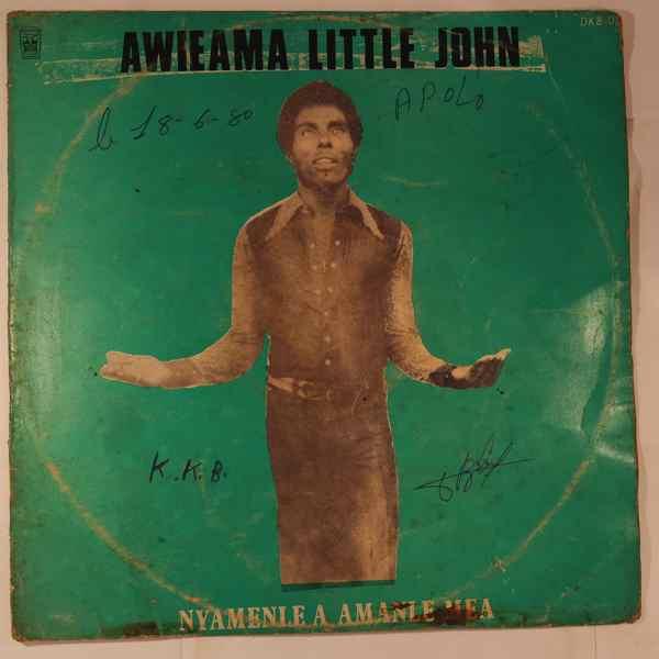 AWIEAMA LITTLE JOHN - Nyamenle a amanle mea - LP