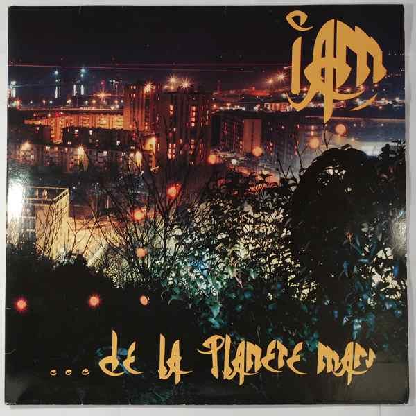 IAM - De La Planete Mars - LP