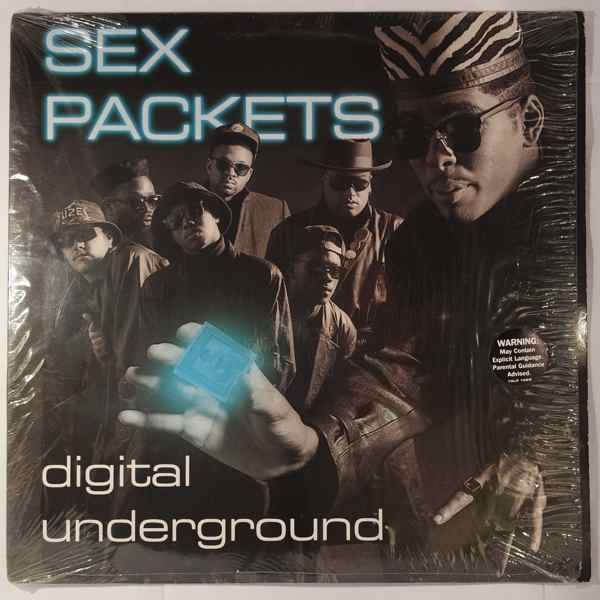 DIGITAL UNDERGROUND - Sex Packets - LP