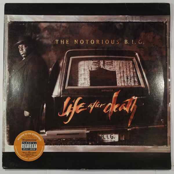 THE NOTORIOUS B.I.G. - Life After Death - LP x 3