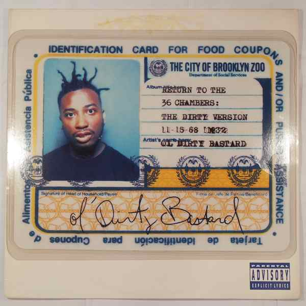 OL' DIRTY BASTARD - Return To The 36 Chambers : The Dirty Version - LP x 2