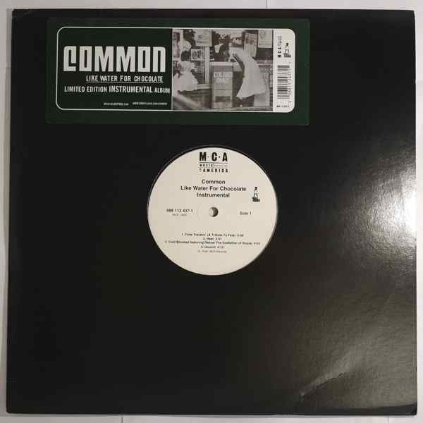 Common Like Water For Chocolate (Limited Edition Instrumental Album)