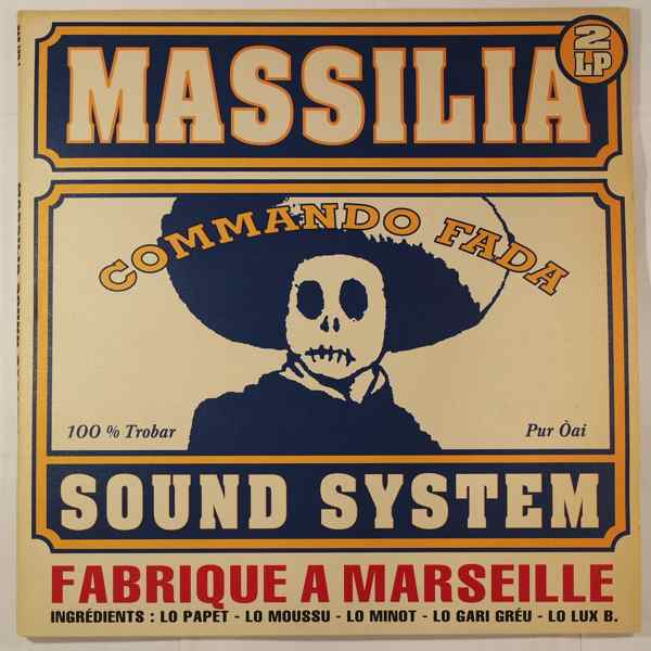 MASSILIA SOUND SYSTEM - Commando Fada - LP x 2