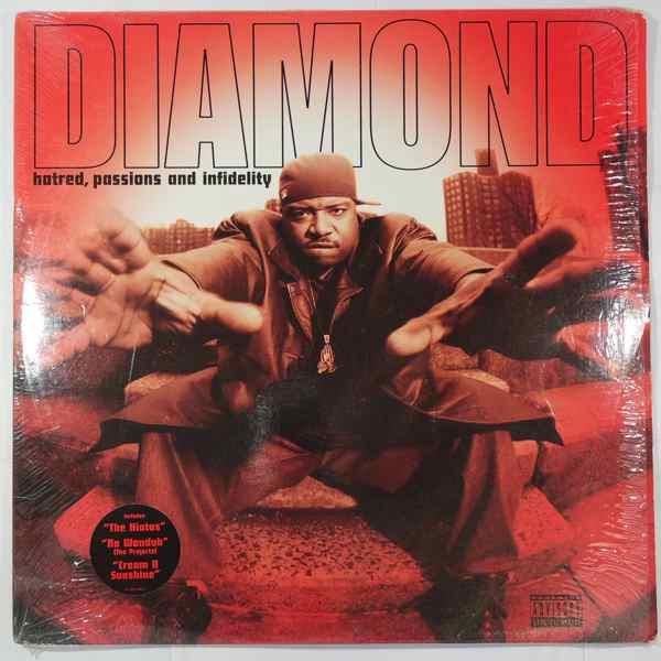 DIAMOND - Hatred, Passions And Infidelity - LP x 2